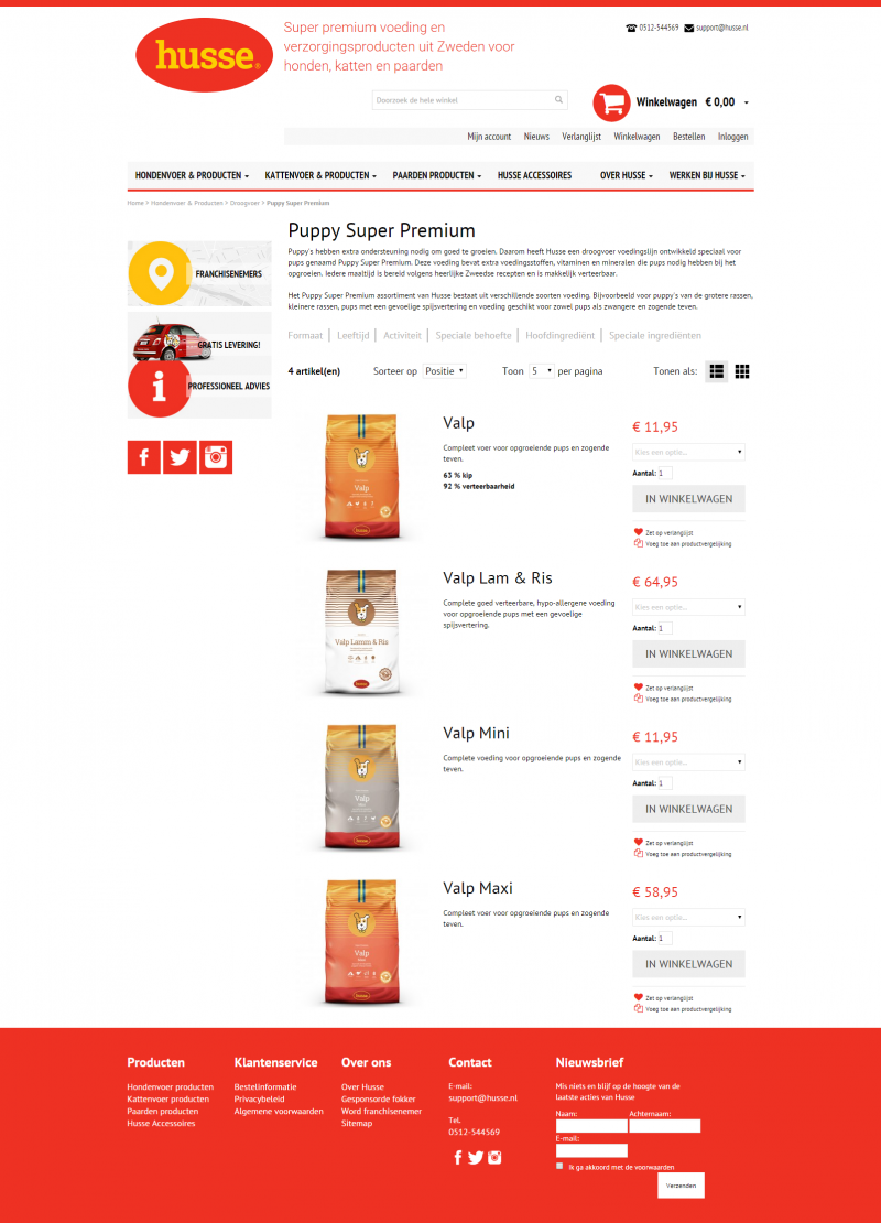 http://www.husse.nl/hondenvoer-producten/droogvoer/puppy-super-premium