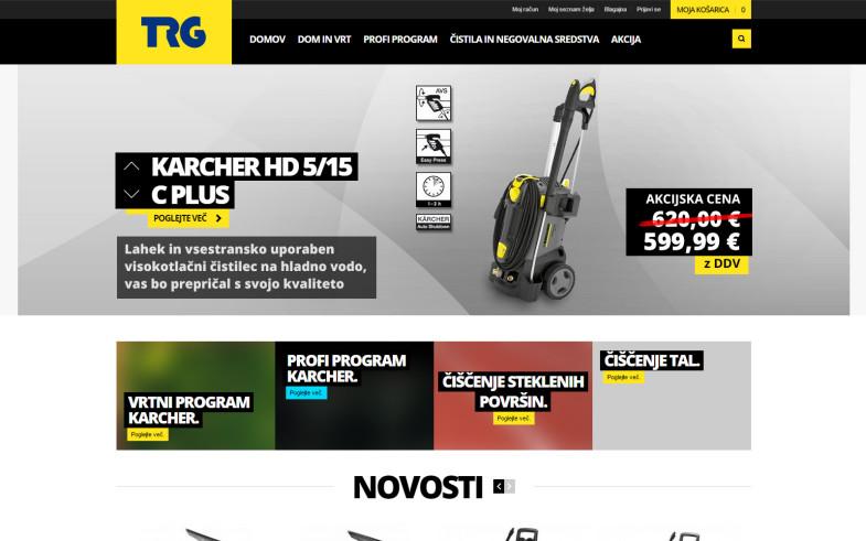 Spletna trgovina Karcher TRG