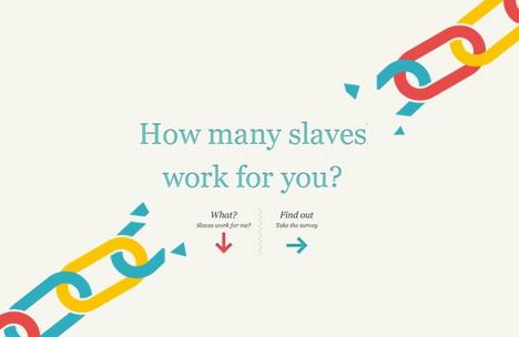 Povzeto po: SlaveryFootprint