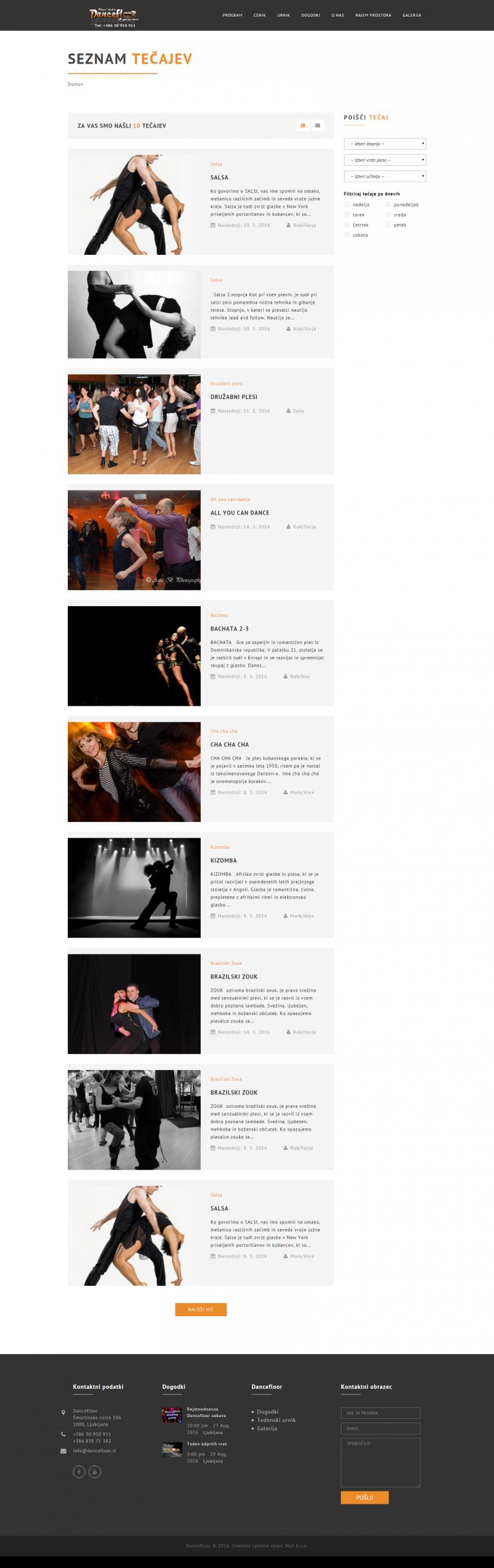 http://www.dancefloor.si/program/